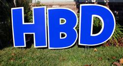 Happy Birthday in BLUE Swag