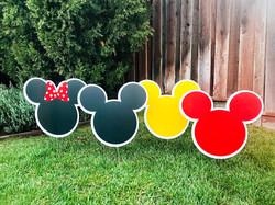 Mickey Themed Birthday