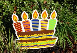 Birthday Cake Swag