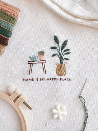 DIY Totebag Embroidery Kit - Scanteak x ILD