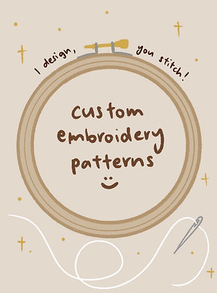 Custom Embroidery Patterns