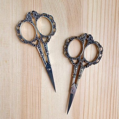 Floral Vintage Scissors