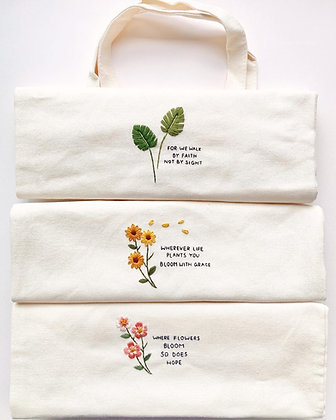 Embroidered Totebag