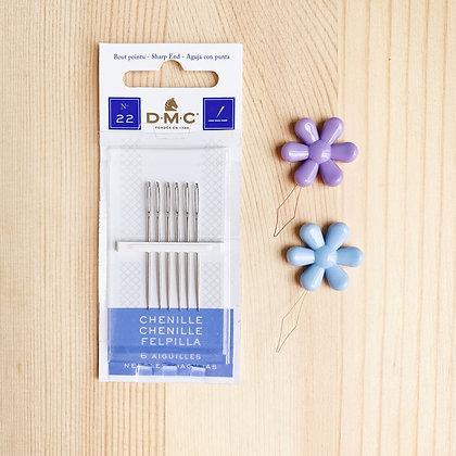 DMC Needles+Needle Threader set