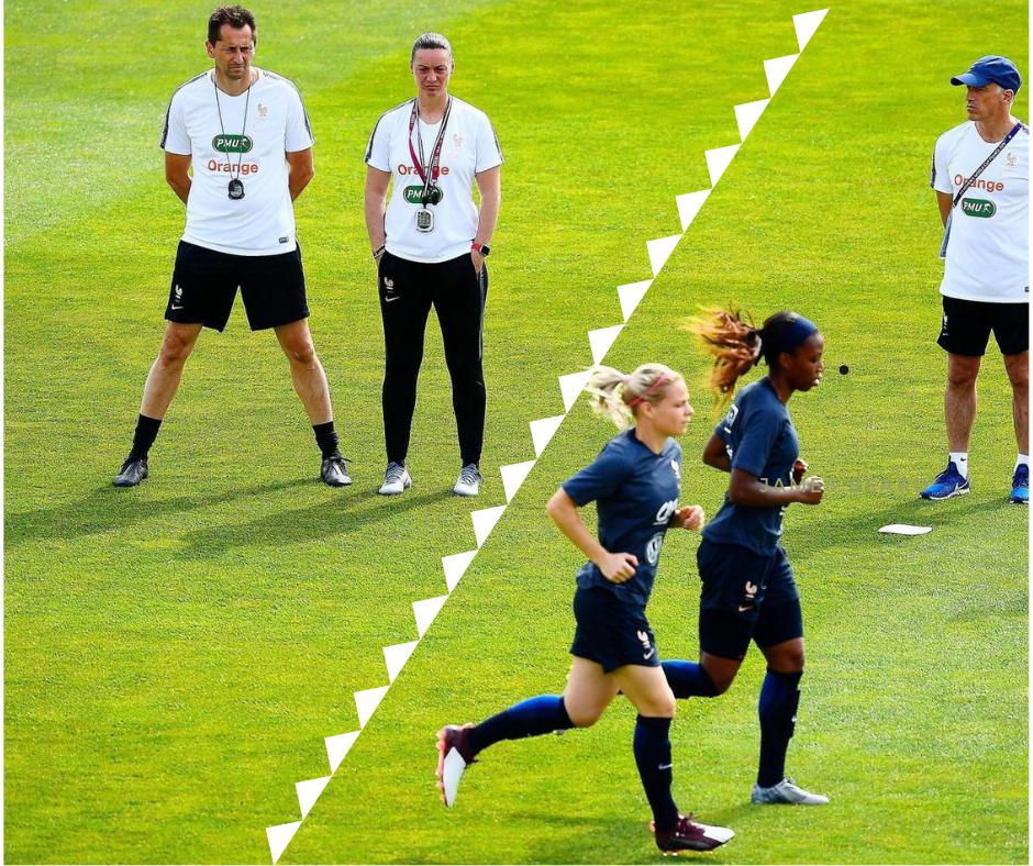 Place de la préparation mentale dans le staff : équipe de France de foot féminine