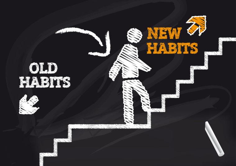 nouvelles habitudes - changement - nouveaux comportements