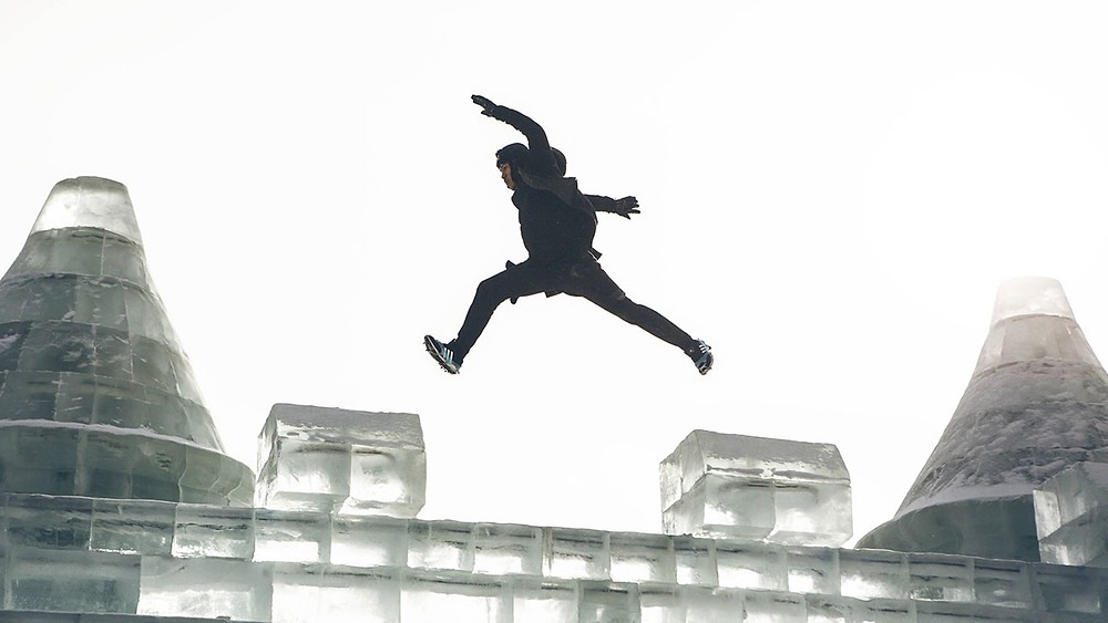 Personne qui prend des risque, qui avance, qui fait un saut dans sa vie