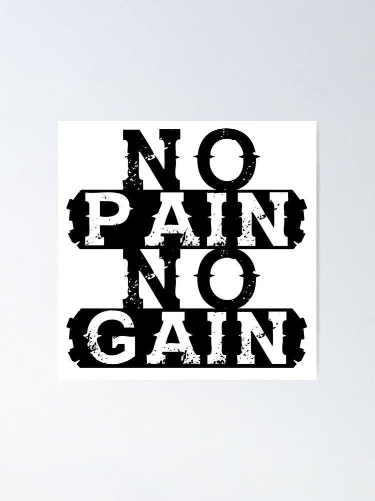 Il faut payer le prix pour réussir - No pain, no gain - Progression - X-perf Coaching