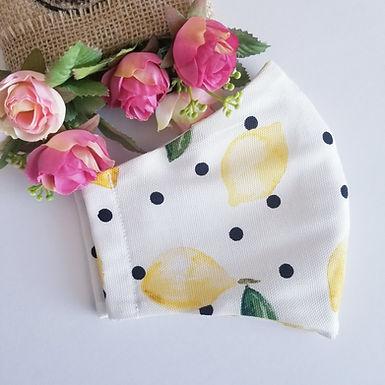 Lemon - Face Mask with Filter Pocket