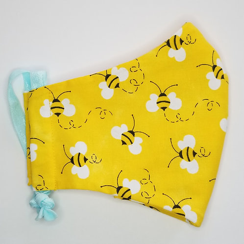 Bee - Face Mask with Filter Pocket
