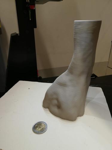 modello scansione 3d stampa 3d ceramica
