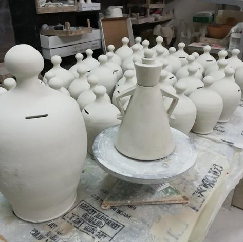 Terraferma salvadanai ceramica