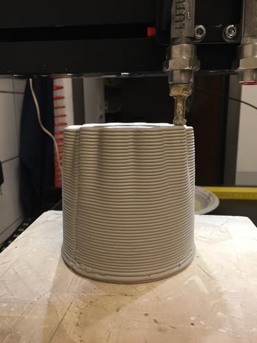 bottiglia stampa ceramica 3d