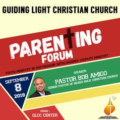 Parenting Forum 2018