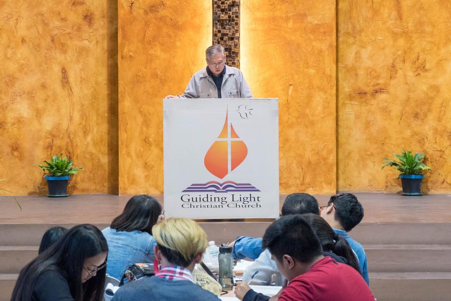 Ptr. Lito Sto. Domingo Preaching on the Third Plenary Session (3)