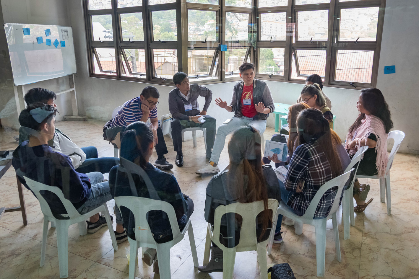 Processing and Group Discussions (12)