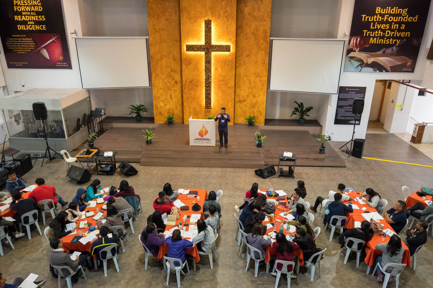 Bro. Tabs de Jesus Preaching the First Plenary