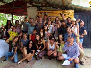 Turismo Cunaguaro con 20 turistas extranjeros y 8 nacionales en una experiencia de Biodiversidad y C