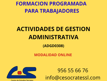 ACTIVIDADES DE GESTION ADMINISTRATIVA