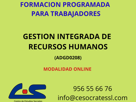 GESTION INTEGRADA DE RECURSOS HUMANOS