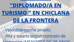"OFERTA DE EMPLEO ""DIPLOMADO/A EN TURISMO"""