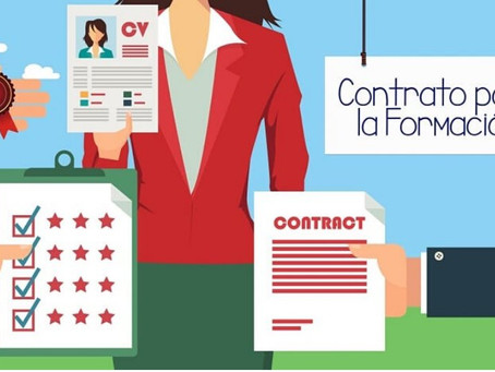 La oportunidad del contrato para la formación y el aprendizaje.