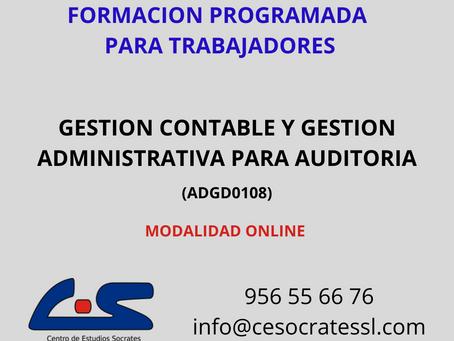 GESTION CONTABLE Y GESTION ADMINISTRATIVA PARA AUDITORIA