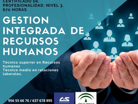 Gestión integrada de recursos humanos. Certificado de profesionalidad.