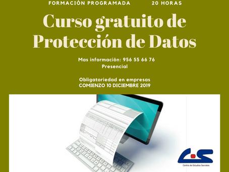 Curso Gratuito de Protección de Datos