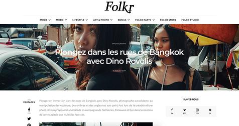 Folkr french magazine