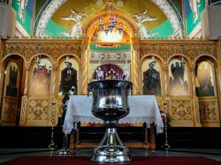 Orthodox church baptism