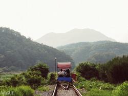 Gangchon rail bike path