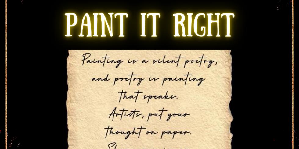 Paint It Right