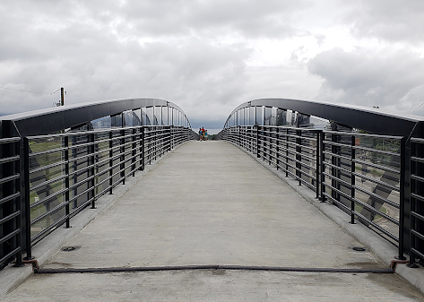 Monon Trail bridge over State Road 32 provides new options for students