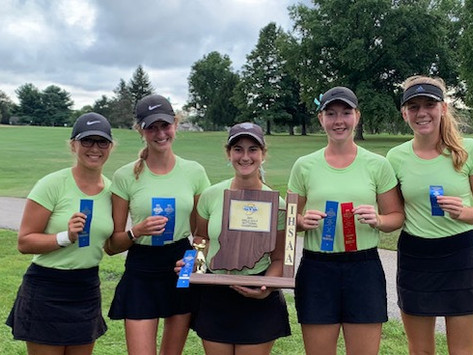 Girls golf achieves superb remarks for their journey to success