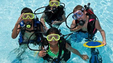 PADI Youth Scuba Diving Program