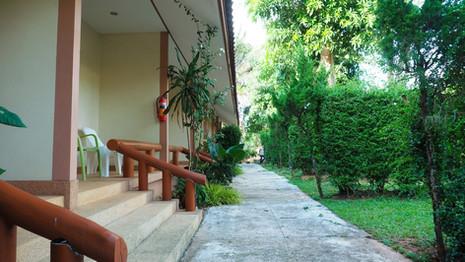 Standard Rooms stairway view