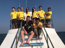 Sensui Dive Resort Group Photo