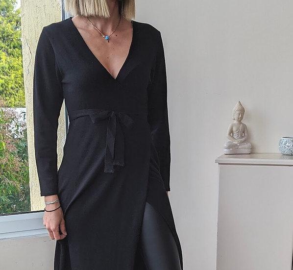 Κρουαζέ πλεκτό φόρεμα