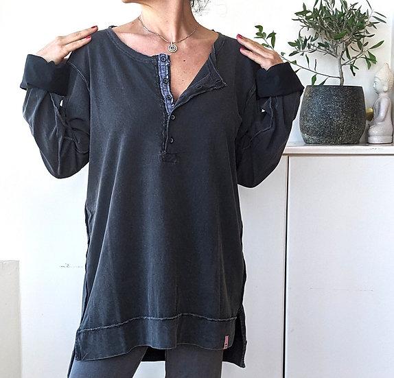 Μακρυμάνικη μπλούζα με πατιλέτα