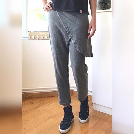 Φόρμα παντελόνι wrap skirt ankle cut