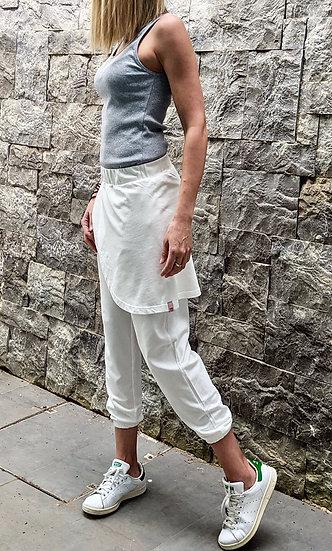 Wrap skirt jogger pants