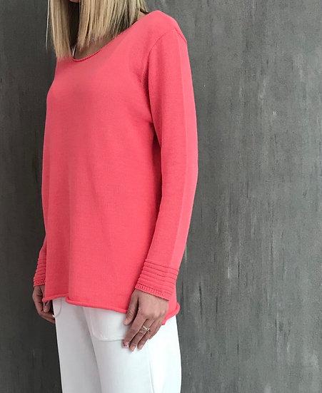 Knit blouse sleeve pattern