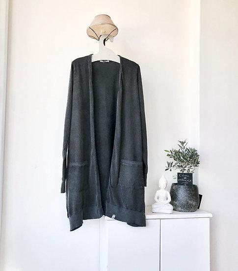 Βαμβακερή ζακέτα με τσέπες