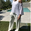 Thumbnail: Ripped hole asymmetrical blouse