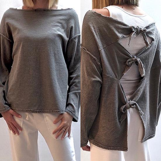 Μπλούζα multiwear με τριπλό δέσιμο