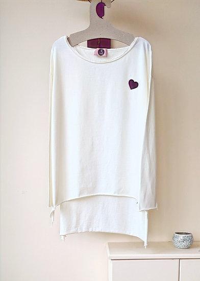 Μακρυμάνικη μπλούζα 'Choose your heart'