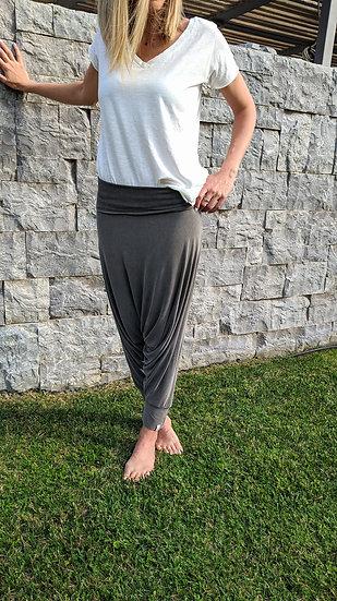 Fold over παντελόνι - strapless φόρμα σαλβάρι