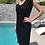 Thumbnail: Midi black dress