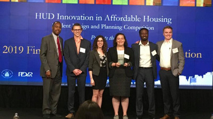 Second Year in Row: UMD Students Win HUD Competition!